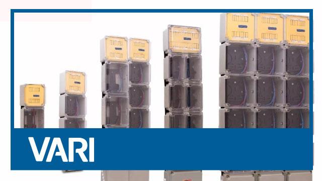 Gabinetes para medidores eléctricos
